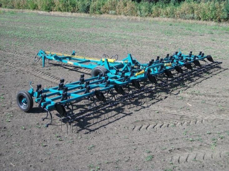 Культиватор для сплошной обработки почвы КСОП-12